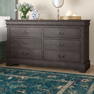 Whispering Pines 6 Drawer Double Dresser