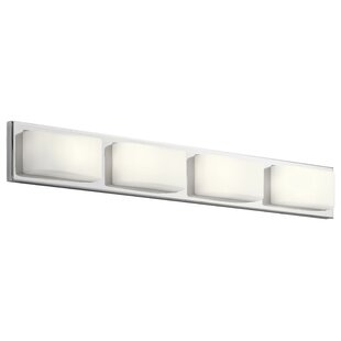 Orren Ellis Amesbury 4-Light LED Bath Bar