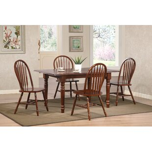 Loon Peak Banksville Butterfly 5 Piece Dining Set