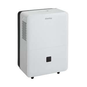 45 Pint Portable Dehumidifier with Casters