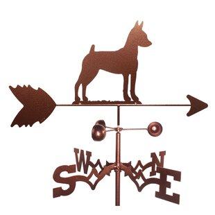 Miniature Pinscher Dog Weathervane By SWEN Products