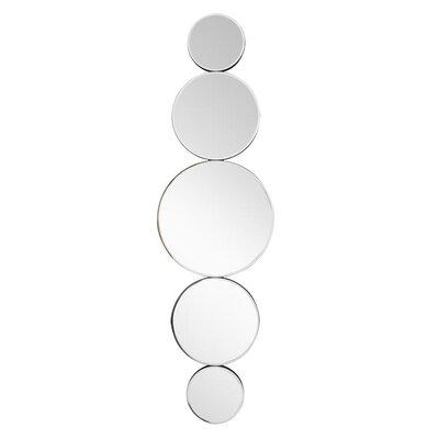 Brayden Studio Circular Disks Wall Mirror