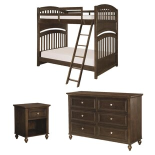 Culbertson Full Bunk Bed Configurable Bedroom Set