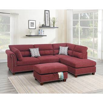Latitude Run Molinaro 122 Wide Right Hand Facing Sofa Chaise Reviews Wayfair Ca