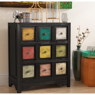 Dickison 3 Drawer Accent Chest by Bloomsbury Market