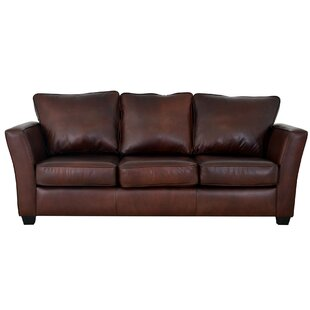 Check Prices Bridgeport Leather Sofa by Westland and Birch Reviews (2019) & Buyer's Guide