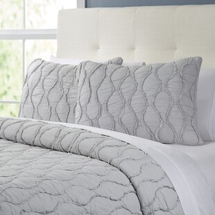 Ardmore Wavy S Ruffled Quilt Set