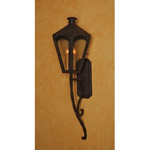 Greeley 3-Light Outdoor Wall Lantern by F..