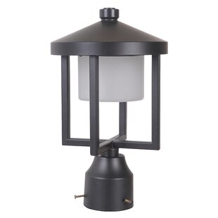 Compare prices Three Rivers 1-Light LED 12.5 Lantern Head By Red Barrel Studio