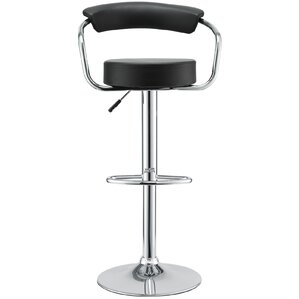 Diner Adjustable Height Swivel Bar Stool (Set of 2) by Modway