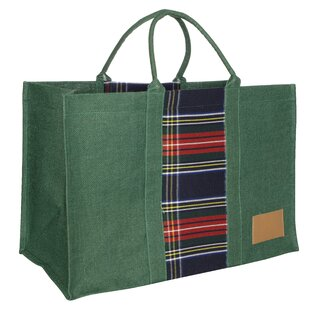 Sarina Jute Log Carrier By Alpen Home
