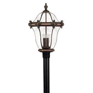 Hinkley Lighting San Clemente Outdoor 3-Light Lantern Head