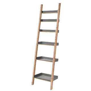 Waville Inclined Ladder Bookcase by Gracie Oaks SKU:BB985744 Purchase