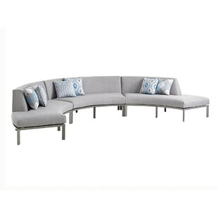 Del Mar Sectional with Cushions By Tommy Bahama Outdoor