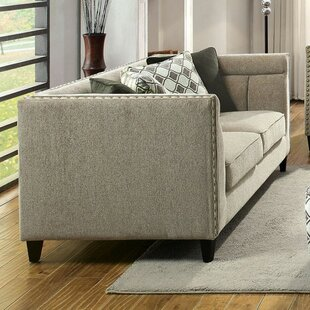 Rhynes Transitional Style Relaxing Loveseat
