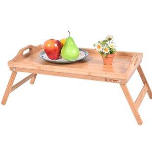 Bamboo Breakfast Tray by Costway