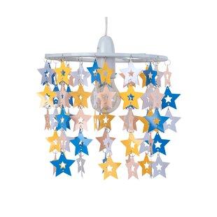 Star 22cm PVC Novelty Pendant Shade by HoneyBee Nursery
