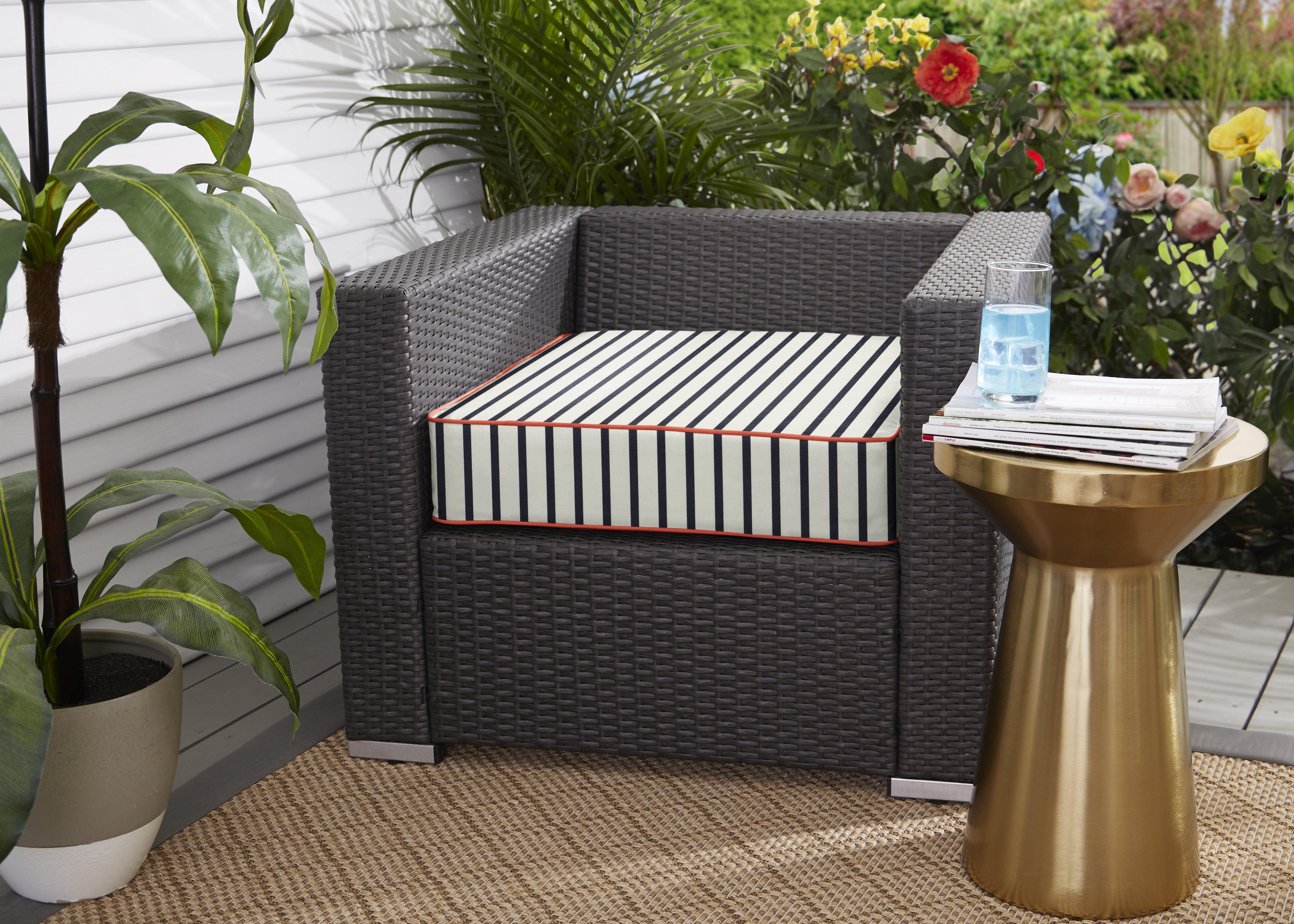 Longshore Tides Melon Indoor Outdoor Sunbrella Seat Cushion Wayfair