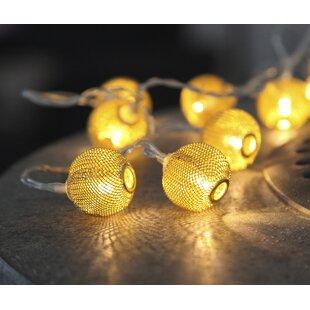Ephialtes 10 Light Novelty String Lights By Mercury Row