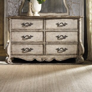 Chatelet 6 Drawer Double Dresser