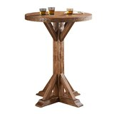 Bristol Bar Height Solid Wood Dining Table by American Heritage