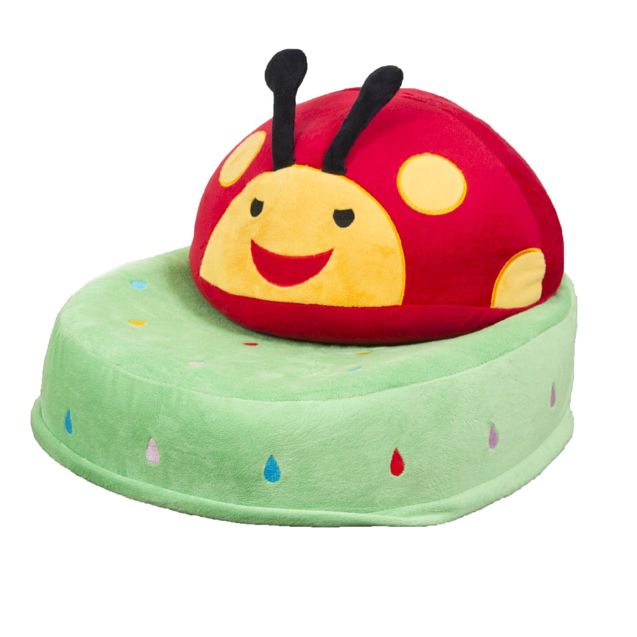 Newplans Corporation Critter Cushion Ladybug Kids Novelty Chair | Wayfair  sc 1 st  Wayfair & Newplans Corporation Critter Cushion Ladybug Kids Novelty Chair ...