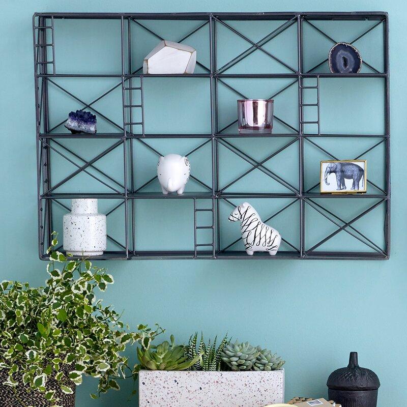 Design Ideas Scaffolding Wall Shelf Wayfair