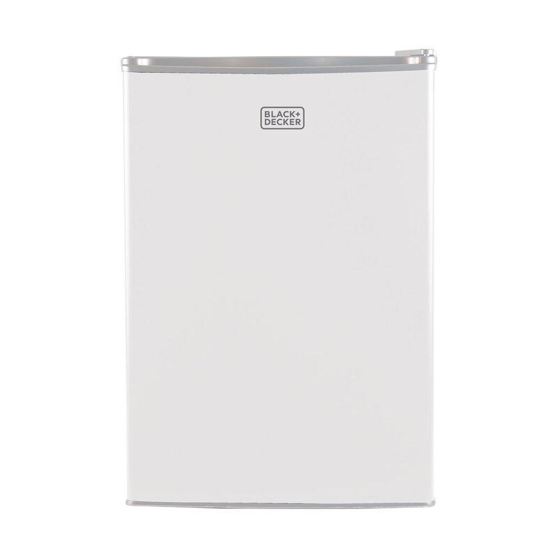 Compact Small Mini Fridge Refrigerator Freezer 1.7 cu ft Office Dorm Game Black