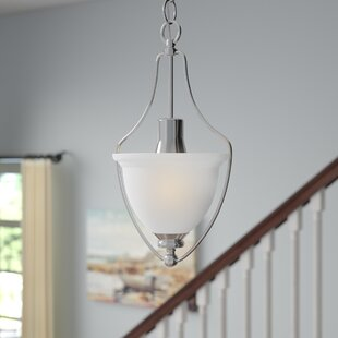 Gradall 1-Light Urn Pendant by Three Posts