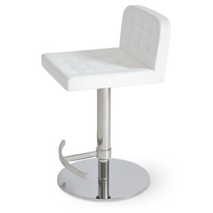 Affordable Adjustable Height Swivel Bar Stool by sohoConcept Reviews (2019) & Buyer's Guide