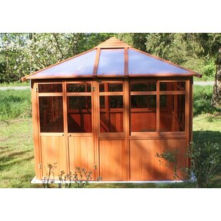Solarus 15 Ft. W x 11 Ft. D Solid Wood Patio Gazebo by Westview Manufacturing