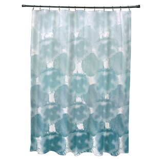 Bloomsbury Market Viet Shower Curtain with 12 Button Holes