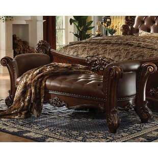 A&J Homes Studio Amber Upholstered Bench