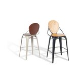 Toros Solid Wood Bar Stool by sohoConcept