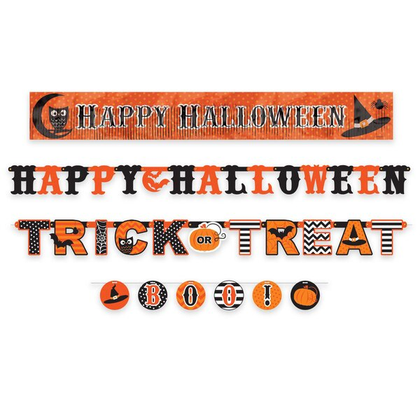 Halloween Banners Signs Up To 55 Off Through 12 26 Wayfair