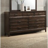 Claudette 7 Drawer Double Dresser by Red Barrel Studio®