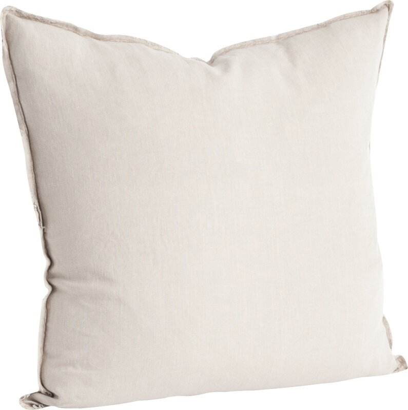 Hardage Linen Throw Pillow