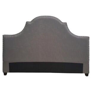 One Allium Way Etienne Modern Upholstered Panel Headboard