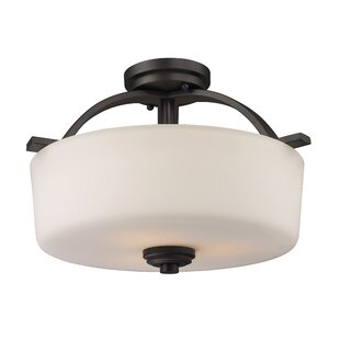 Weissport 3-Light Semi-Flush M..