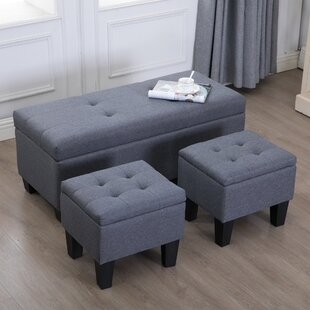 Great Price Velasquez Storage Ottoman (Set of 3) By Charlton Home
