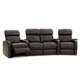 Large LED Flex Light Home Theater Row Seating (Row of 4) ByLatitude Run