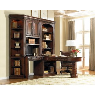 European Renaissance II 6 Piece Desk Office Suite