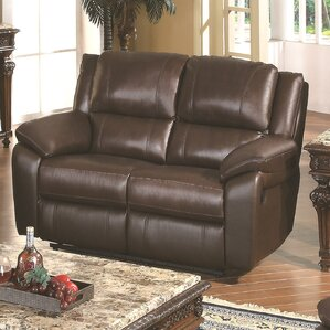 Follmer Reclining Loveseat by Darby Home Co