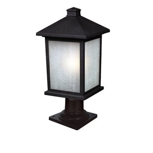 Read Reviews Stevens Outdoor 1-Light Pier Mount Light By Andover Mills