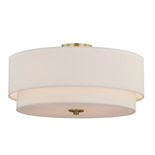 Macdonald 4-Light Semi-Flush Mount by Mercer41