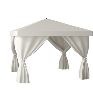 Basta 12 Ft. W x 12 Ft. D Aluminum Patio Gazebo by Tropitone