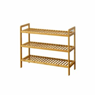 Bamboo 3-Tier Shoes Rack by The Urban Port