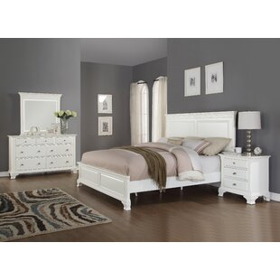 Shenk Panel 4 Piece Bedroom Set