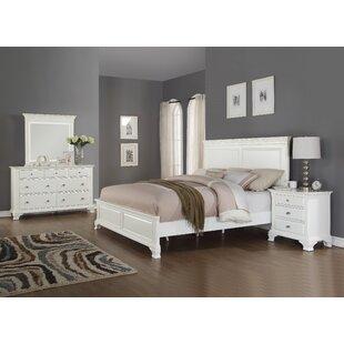 Shenk Panel 4 Piece Bedroom Set