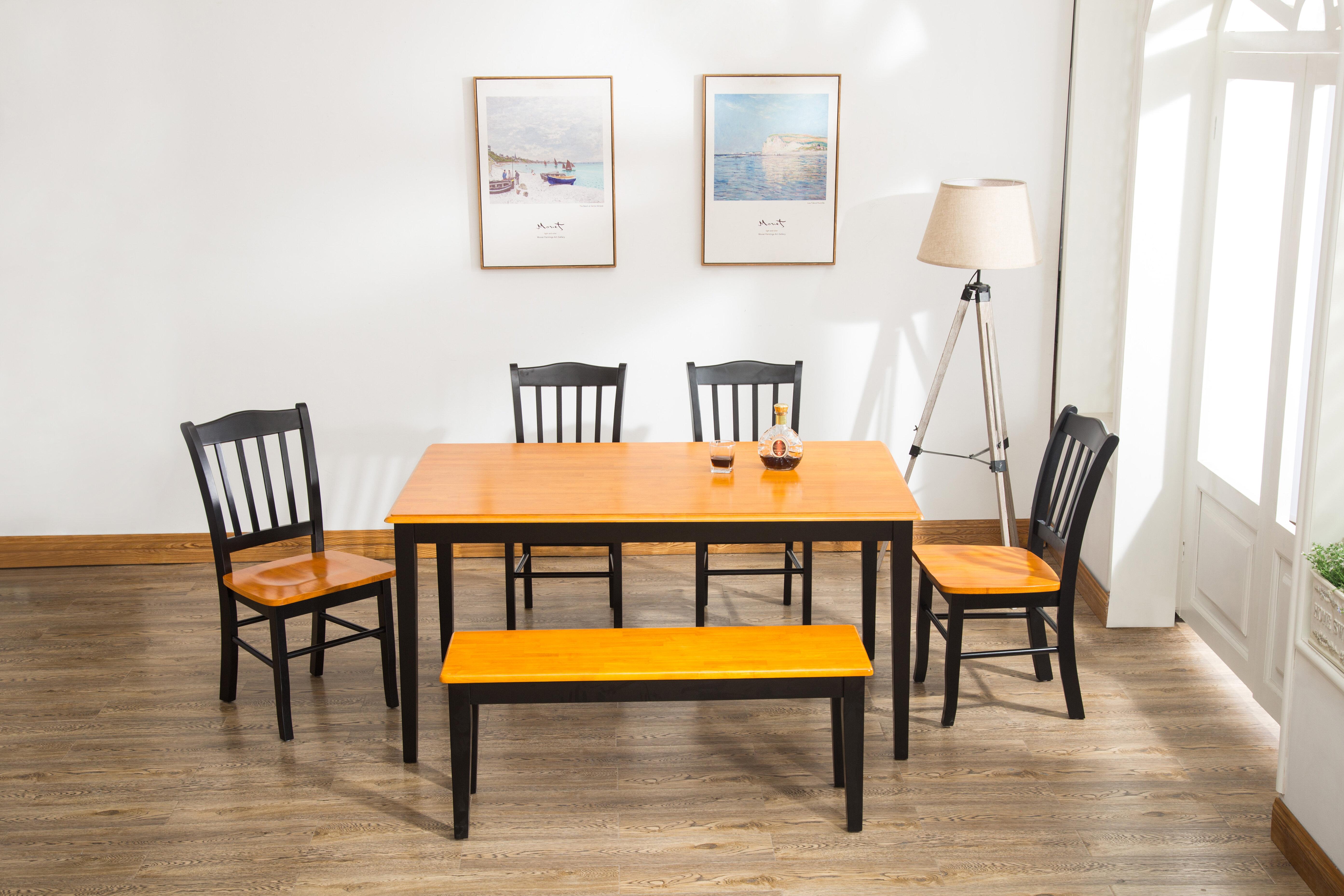 Weldy 6 Piece Dining Set